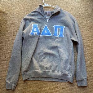 ADPi 3/4 Zip Up Sweatshirt